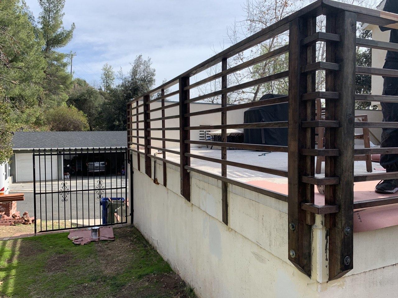 handymaestro redwood railing service